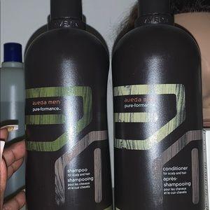 Aveda MENS shampoo amazing conditioner